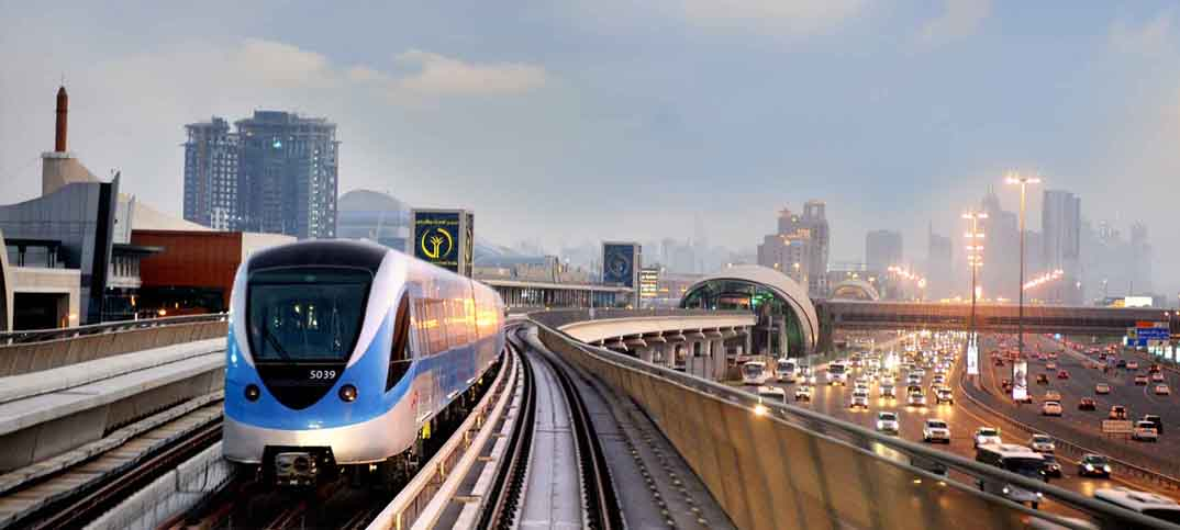 Introduction of Dubai Metro