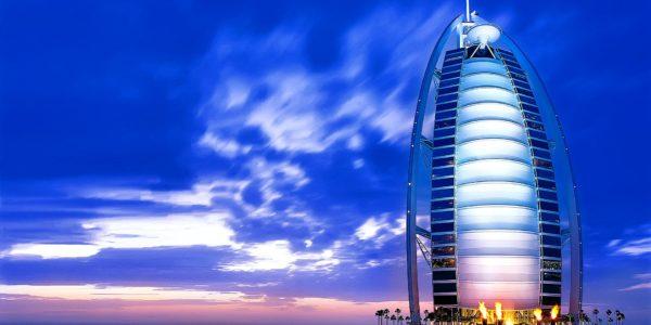 Burj-Al-Arab five star hotel